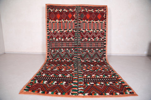 Hassira Straw Morocco Mat 6.7 FT X 11.9 FT