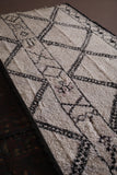 Long Moroccan rug 6.6 FT X 13 FT