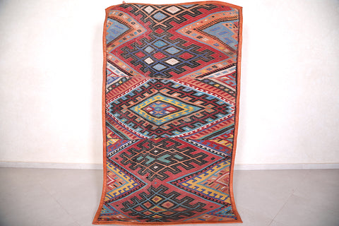 Moroccan Hassira mat 4.1 FT X 6.8 FT