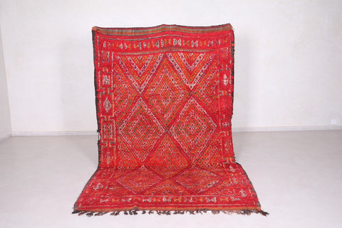 Large Moroccan rug 5.8 FT X 9.4 FT