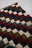 Handmade Small Berber rug 2.4 FT X 3.9 FT