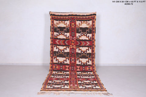 Runner Moroccan rug 4.6 FT X 11.5 FT