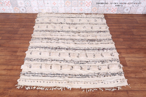 Berber wedding blanket 4.2 FT X 5.3 FT