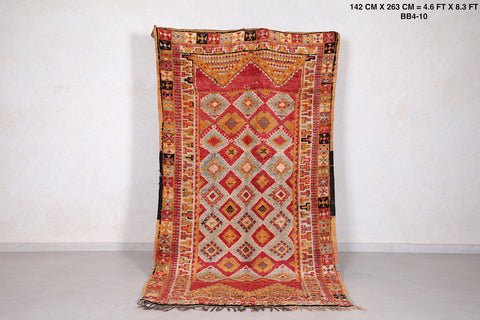 Moroccan rug, 4.6 FT X 8.6 FT