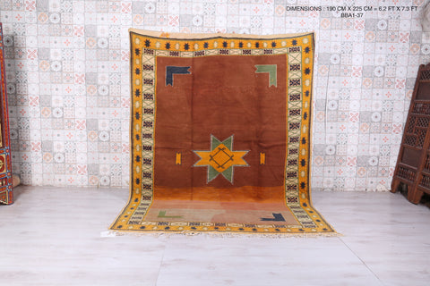 Atlas Moroccan rug, 6.2 FT X 7.3 FT