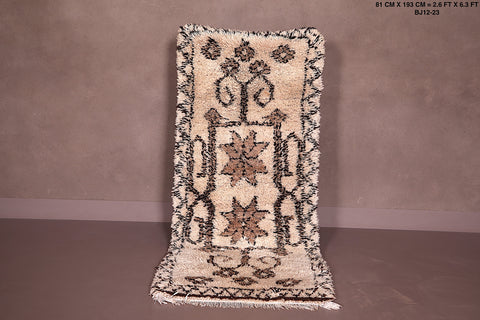 Small Azilal rug, 2.6 FT X 6.3 FT