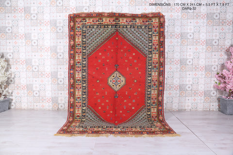 Moroccan Royal rug, 5.5 FT X 7.9 FT