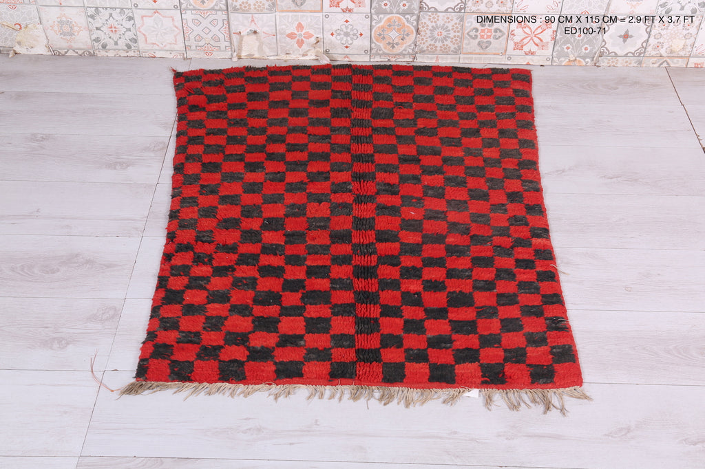 Moroccan Checker, 2.9 FT X 3.7 FT