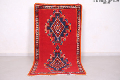 Moroccan rug, 3.2 FT X 6.2 Ft,