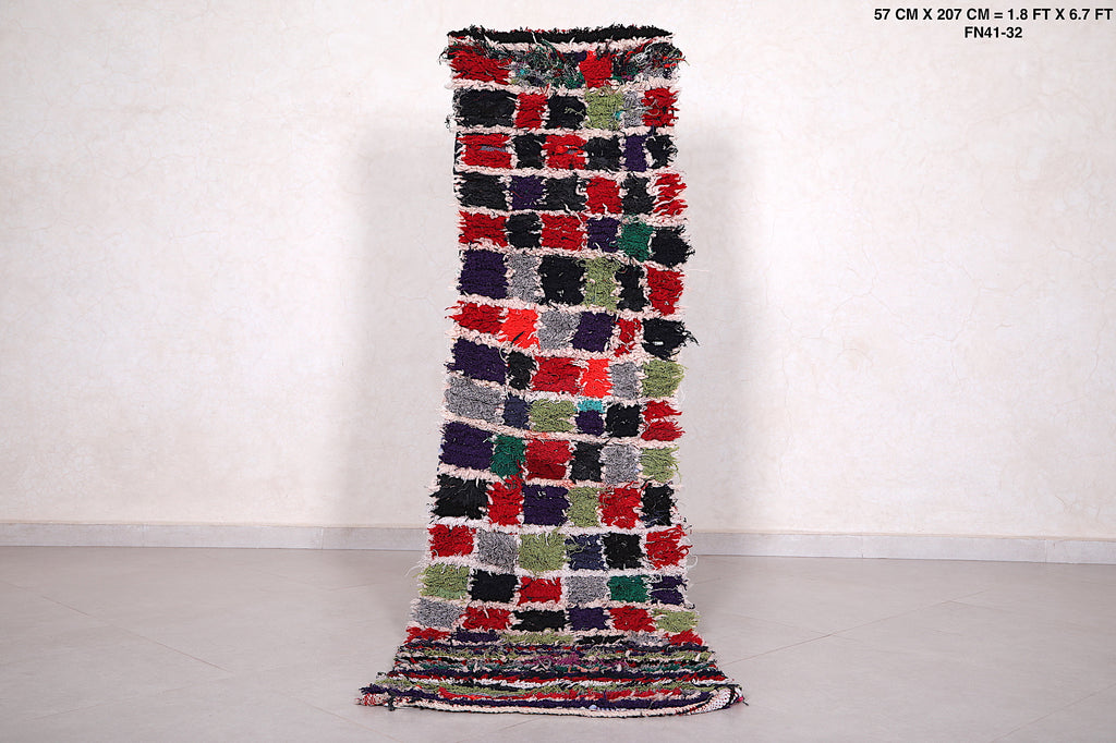 Long runner rug, 1.8ft x 6.7ft