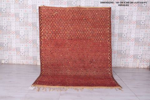 Hassira Straw Rug Moroccan Straw Mat 6 FT X 8 FT