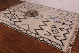 Moroccan Beni ourain rug 6.5 FT X 8.4 FT