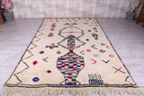 Azilal All wool rug, 6.6 FT X 10.7 FT