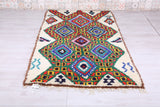 Berber carpet 4.1 FT X 7.4 FT