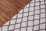 Runner moroccan rug 2.9 FT X 9.7 FT