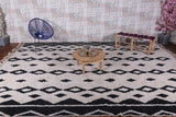 Large moroccan rug 9.9 FT X 13.1 FT