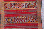 Hand Woven moroccan rug,  6.1 FT X 9 FT