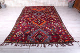 Authentic Berber rug, 6.9 FT X 11 FT