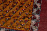 Authentic moroccan rug 6.3 FT X 9.8 FT