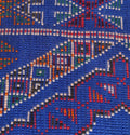 Blue rug, 6.3 FT X 12.7 FT - The Authentic Blue Moroccan rug