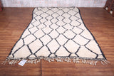 Beni ourain rug 5.5 FT X 10.2 FT