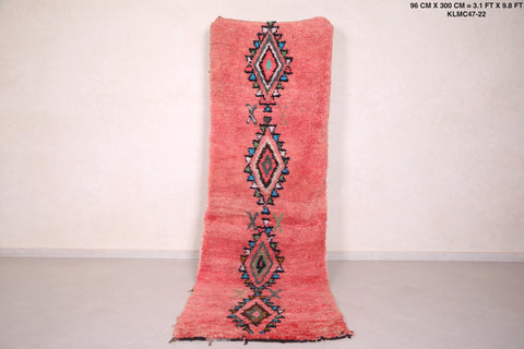 Moroccan rug - 3.1 FT X 9.8 FT