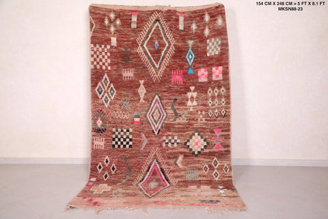 Moroccan rug - 5 FT X 8.1 FT