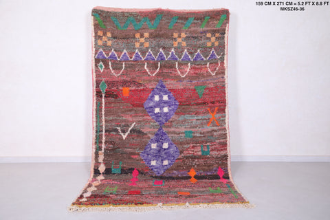 Moroccan rug - 5.2 FT X 8.8 FT