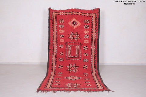 Authentic Moroccan rug 4.6 FT X 10 FT