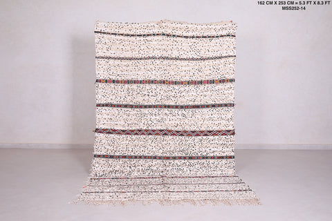 Berber Wedding rug 5.3 FT X 8.3 FT