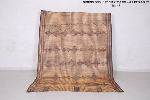African Reed Rug (6.4ft x 8.3ft)