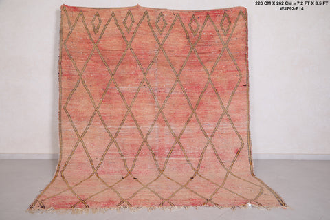 Moroccan rug - 7.2 FT X 8.5 FT