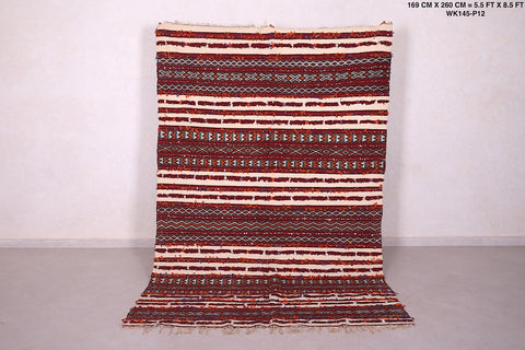 Runner moroccan rug 5.5 FT X 8.5 FT
