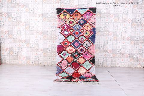 Runner moroccan rug 3.2 FT X 7 FT