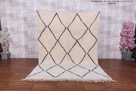 All Wool Moroccan rug,