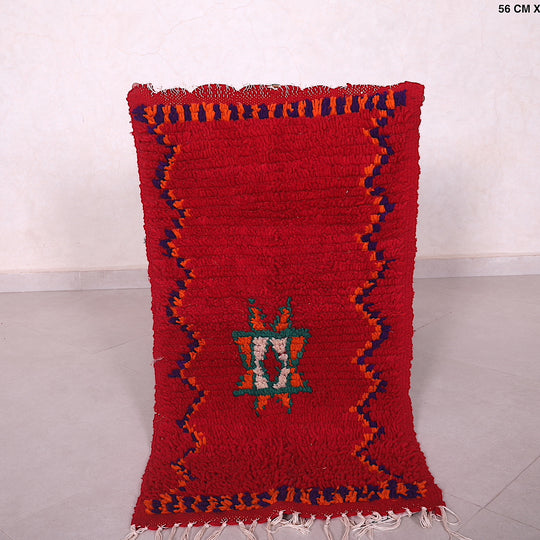 Small red kilim, 1.8ft x 3.3ft