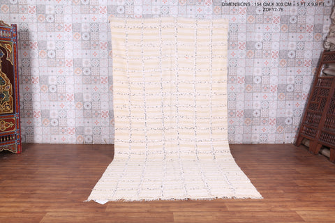 Wedding blanket rug 5 FT X 9.9 FT