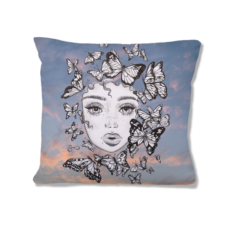 Butterfly Effect Pillow