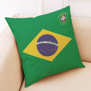 2018 World Cup Pillow Case BRAZIL