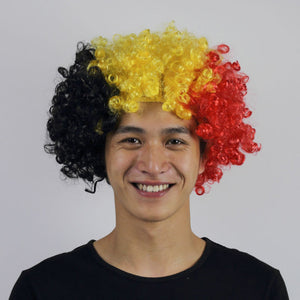 2018 World Cup Country Wig BELGIUM