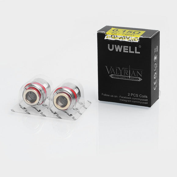 Uwell Replacement Coils 0.18ohm for Valyrian Tank Atomizer (2pcs/Pack)