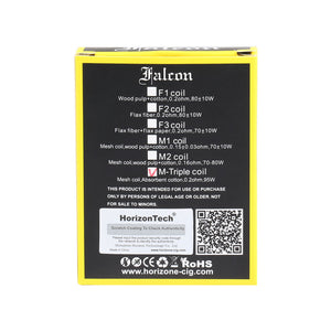 HorizonTech - Falcon / Falcon King Replacement Coils 3 Pack