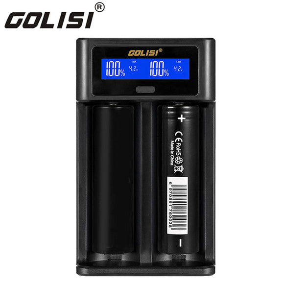 Golisi i2 - 2 Bay Battery Charger