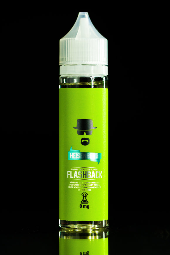 Heisenberg - Flashback - Sweet bubble gum overflowing with fresh juicy tropical fruits 60ml