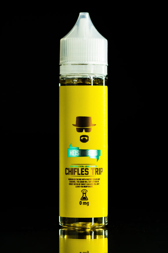 Heisenberg - Chifles Trip - Sweet banana with pastry cream and caramel 60ml