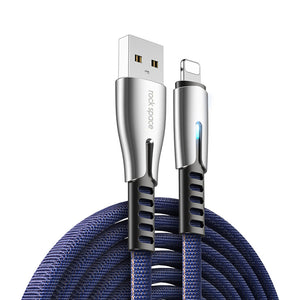 Rock Space M2 USB to Lightning Fast Charge Cable