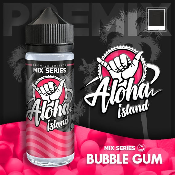 ALOHA ISLAND - Bubble Gum 120ml