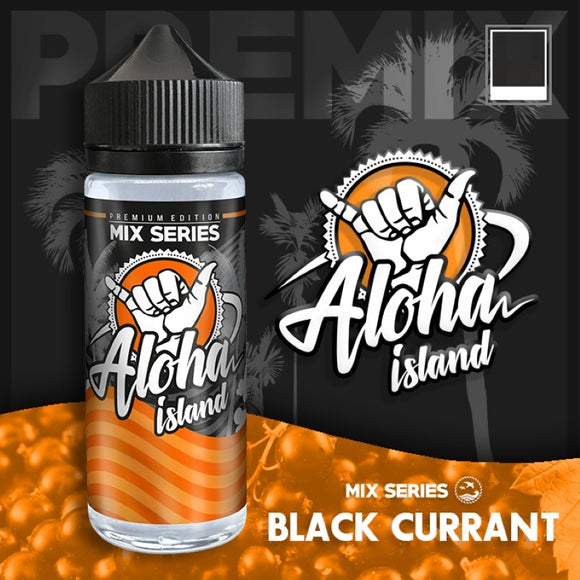 ALOHA ISLAND - Black Currant 120ml