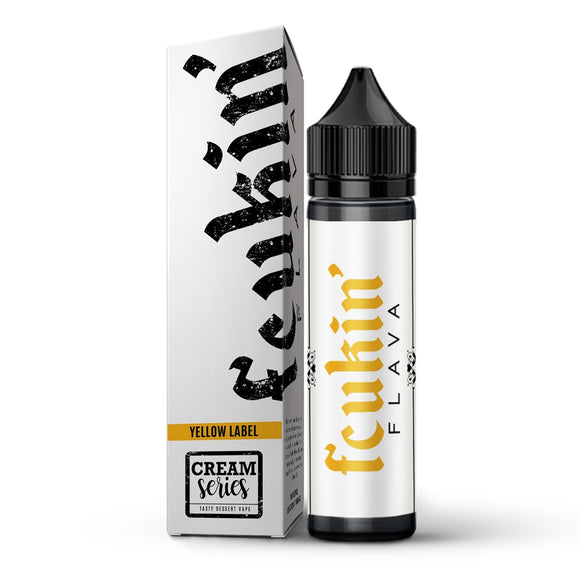 Fcukin'flava -Yellow Label 60ml
