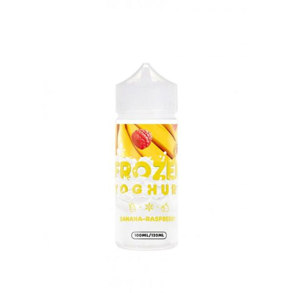 FROZEN YOGHURT - Banana-Raspberry Yoghurt 120ml